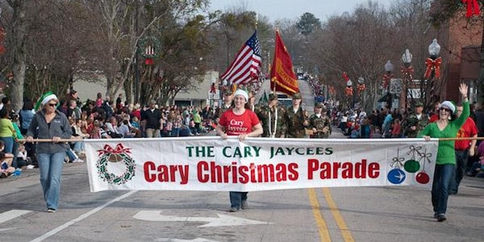 Cary Christmas Parade 2019 Town of Cary 2018 Christmas Parade   Triangle on the Cheap