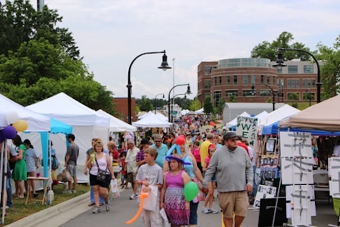 Meet in the Street Festival in Wake Forest
