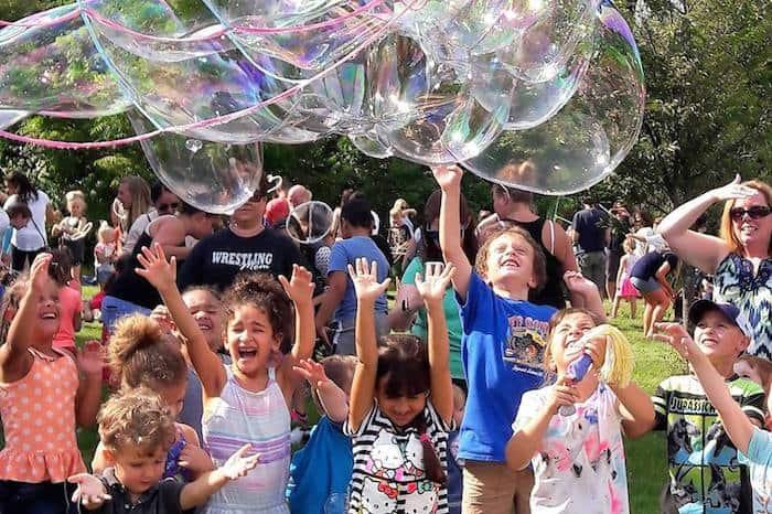 Bubble Festival in Chapel Hill