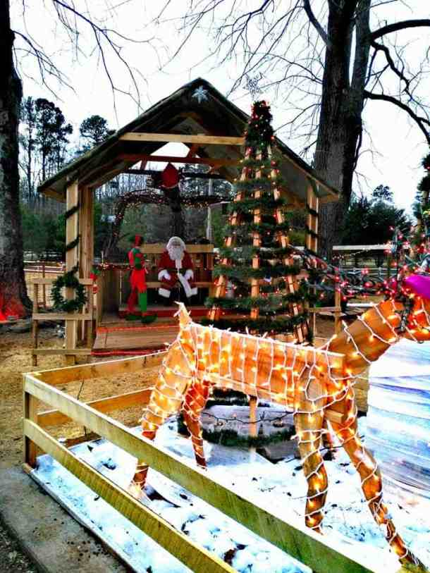 winterfest santa goats chapel hill