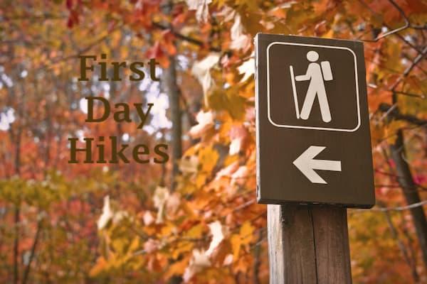 new year first day hike raleigh durham north carolina