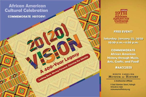 19th Annual African American Cultural Celebration at North Carolina Museum of History