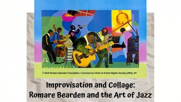 improvisation and collage flyer
