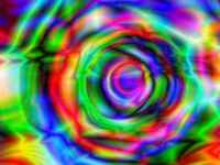 Abstract Background With Psychedelic Art Abstract Background With Psychedelic Art 3D Render