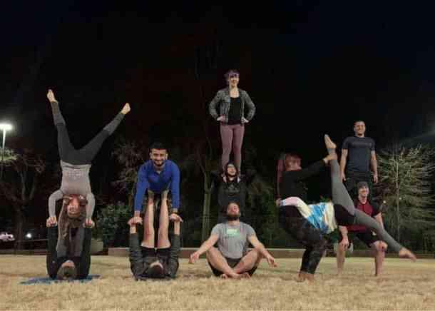 acro yoga group