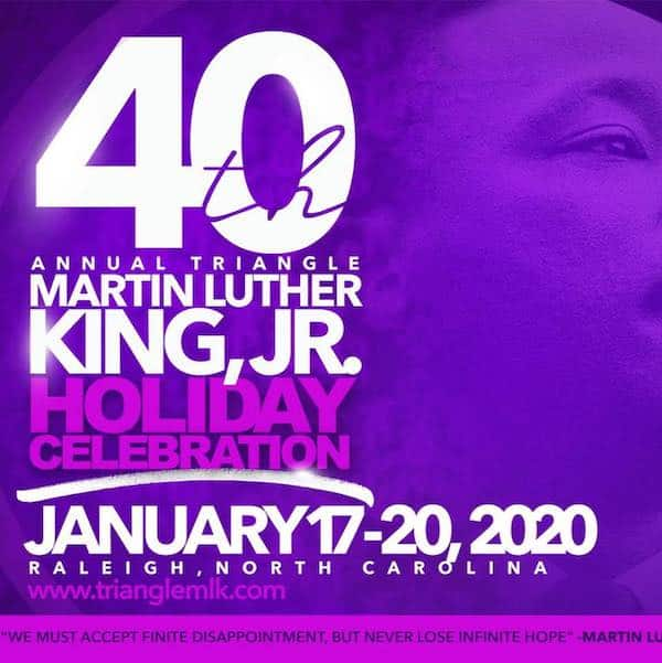 Triangle Martin Luther King, Jr. Committee MLK Day events