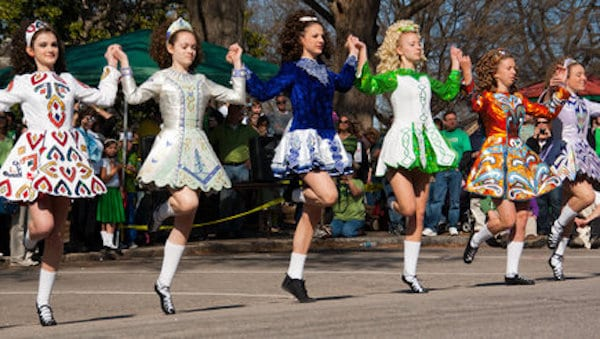 raleigh st patricks day parade irish dancers
