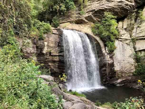 Looking Glass Falls, Western North Carolina
