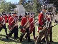 reenactors revolutionary war soldiers