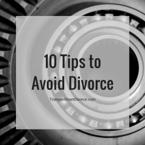 10 Tips to Avoid a Divorce