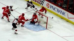 Carolina_Hurricanes_vs_New_Jersey_Devils_Michal_Jordan_Behind_Net_Action