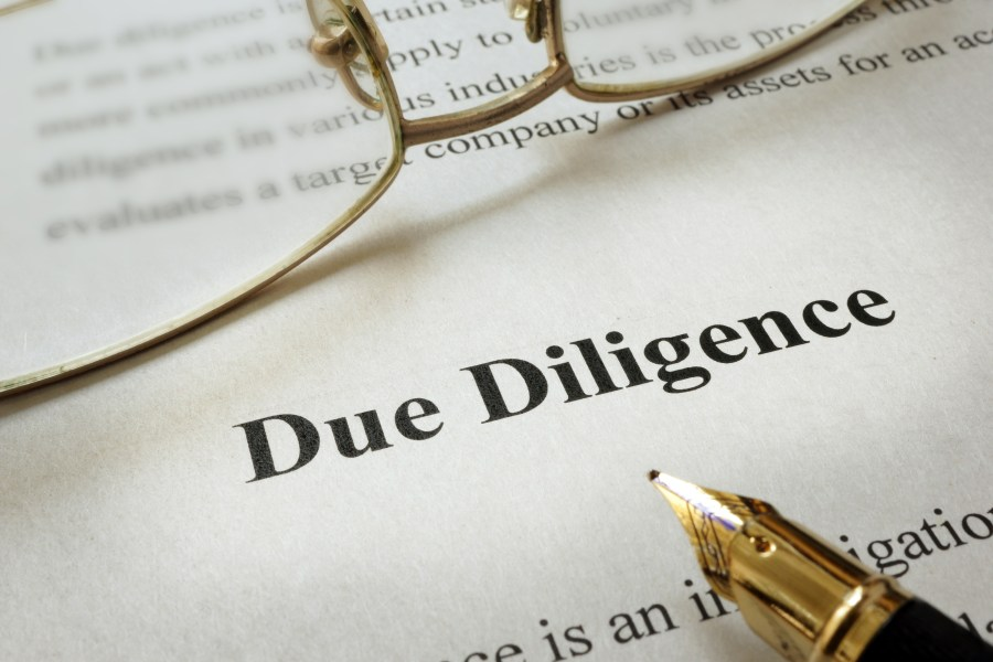 Due Diligence Fees