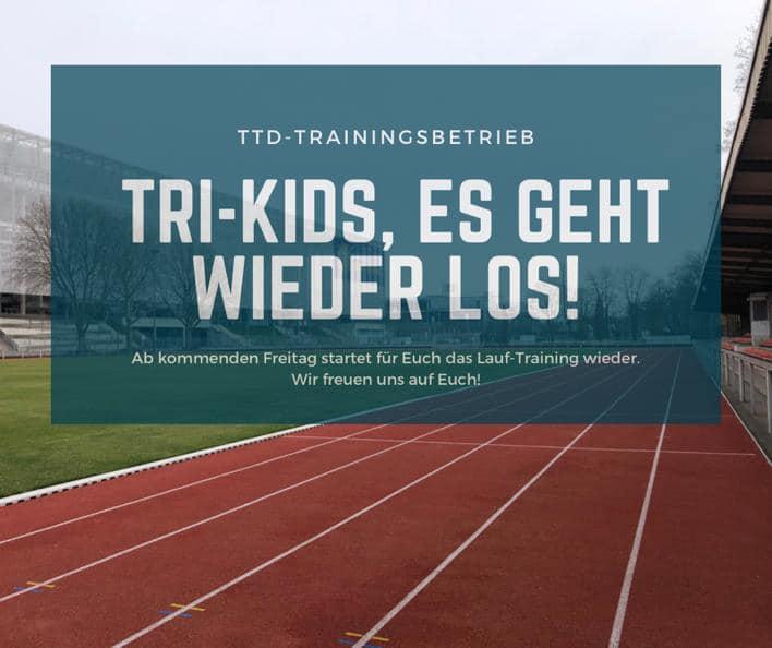 Neustart TRI-Kids Training 2021