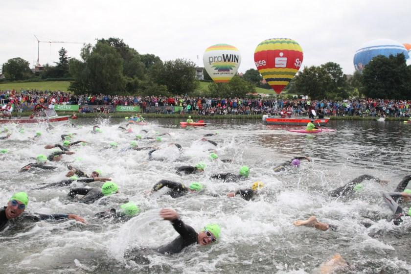 Challenge Roth - Swim start