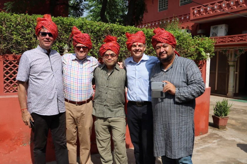 CSC Team India 32 with turban