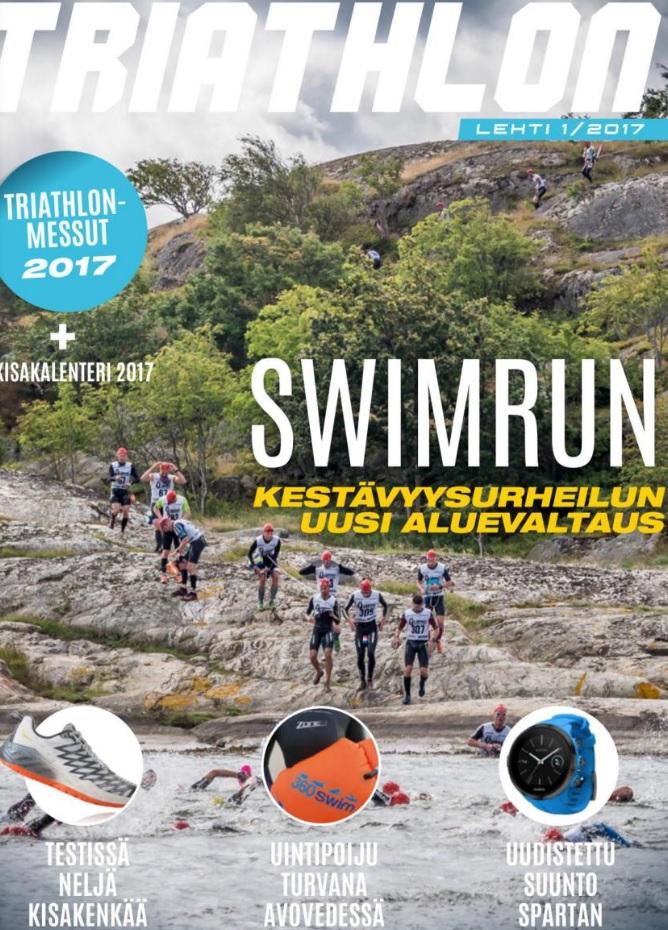 Triathlon-lehti 1/2017