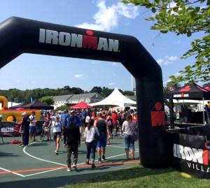 IronMan 70.3 Maine - Race insights - IM village