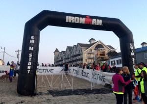 IronMan 70.3 Maine - Race insights - Swim start