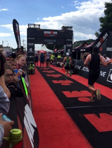 IronMan 70.3 Maine - Race insights - Finish line