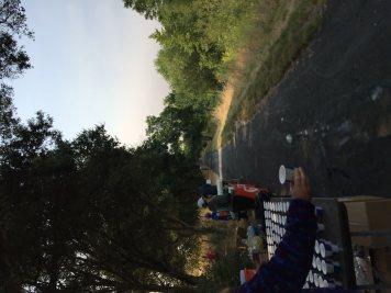 IronMan 70.3 Santa Rosa running trail