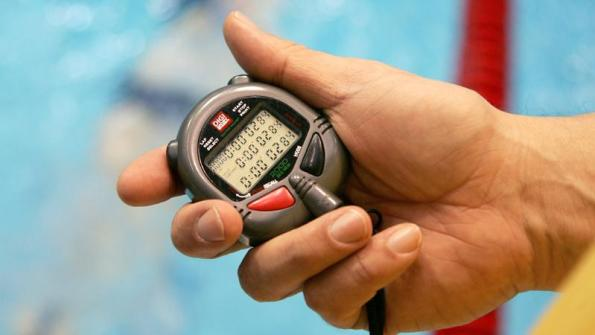 Swimming stopwatch