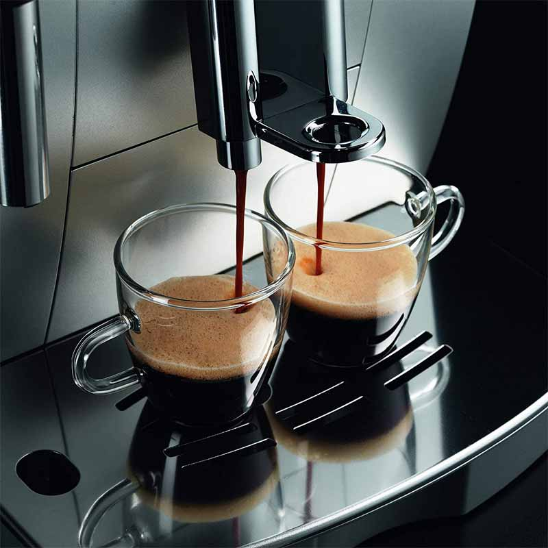 Bec reglable d'ecoulement cafe