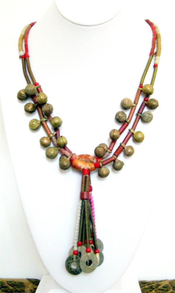 Tribal Jewelry Yoruba African Tribal Necklace