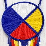 Medallion-Medicine Wheel Blue 2