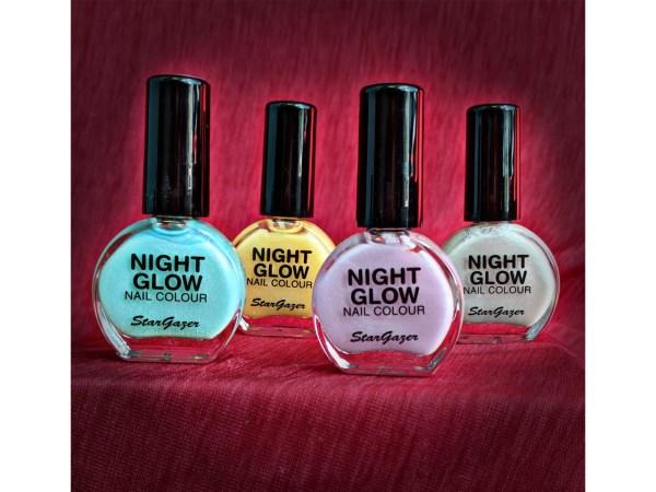 Stargazer Night Glow Nail Polish Glow In The Dark