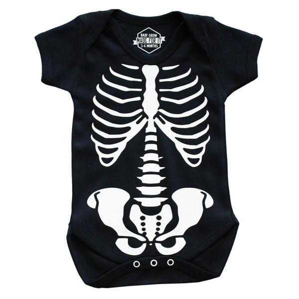 Skeleton Baby Grow Onesie