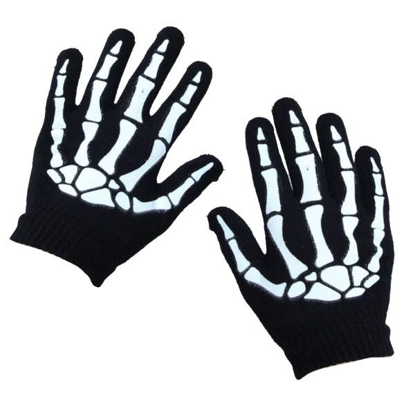 Skeleton Hand Gloves Poizen Industries
