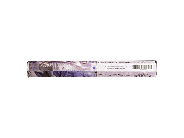 Anne Stokes Midnight Messenger Boxed Incense Sticks Vanilla Infused Cleansing Aromatherapy Fragrance Aroma Owl Fairy Pixie