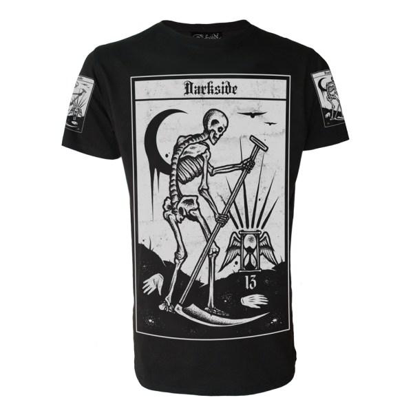Death Tarot T-Shirt Darkside Clothing Alternative