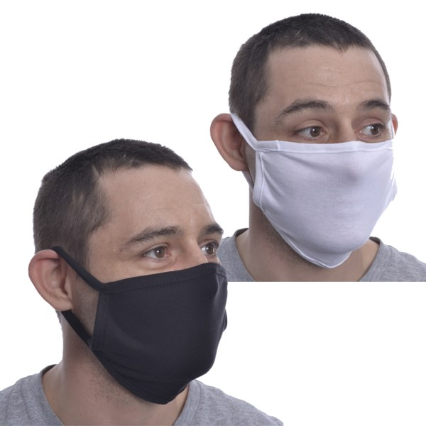 Rumi Plain Mask Face Covering Reusable Innocent Clothing Poizen Industries