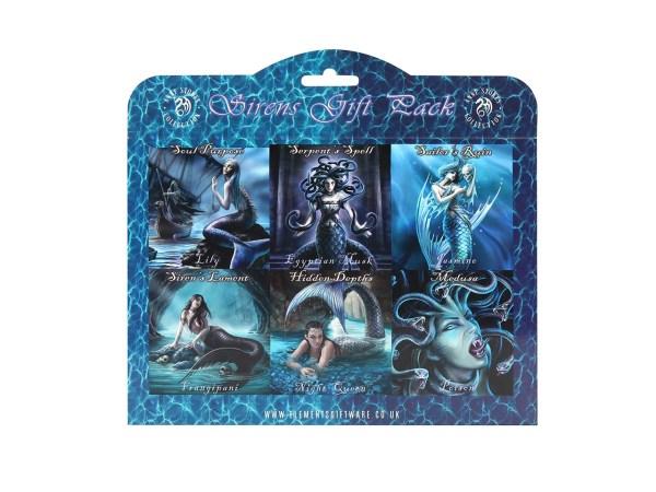 Sirens Incense Stick Gift Pack Anne Stokes Fairy Sirens Pixie Serpent Medusa Mermaid Fantasy Deep Sea