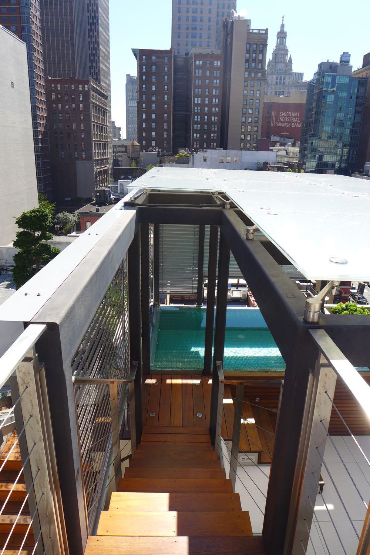 Tribeca Citizen Loft Tour Preview 1 Duane Street Penthouse