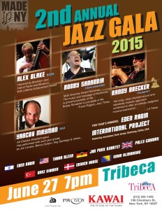 Made in New York online Jazz Competition 2nd Annual International Jazz Gala @ Tribeca Performing Arts Center | New York | New York | United States