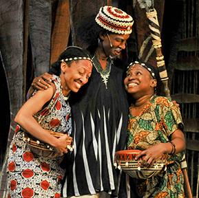 Schooltime: John Steptoe's Mufaro's Beautiful Daughters