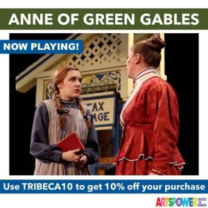 ArtsPower OnLine - Anne Of Green Gables - Available Now through June 30 @ Online (ArtsPower Theatre OnDemand)