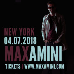 Max Amini Live in NY @ BMCC Tribeca Performing Arts Center | New York | New York | United States