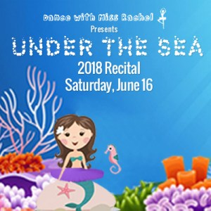 Dance with Miss Rachel 2018 Recital: Under the Sea @ BMCC Tribeca Performing Arts Center | New York | New York | United States