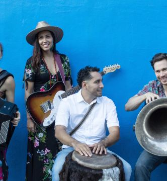 Sonia De Los Santos With Cumbia River Band Album Release Concert