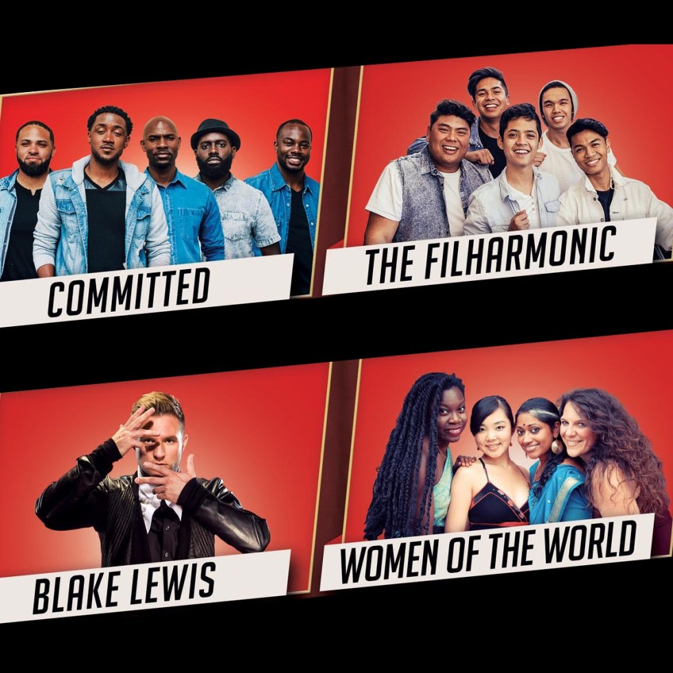A Cappella Live: Featuring Committed, The Filharmonic,  Blake Lewis & Women Of The World