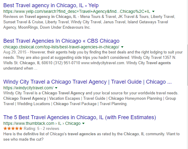 Local SEO for Travel Agencies meta description