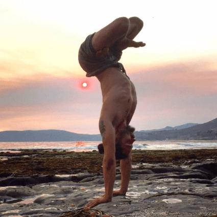 Justin Stanley yoga teacher los angeles california