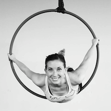 Joelle Pendergrass is an aerial arts, and aerial fitness instructor in St. Louis, MO.