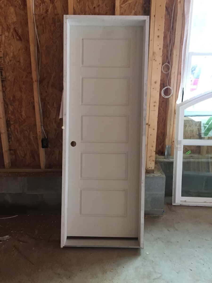 Interior farmhouse door