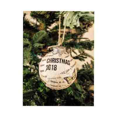 How to make your own DIY Christmas Ornament