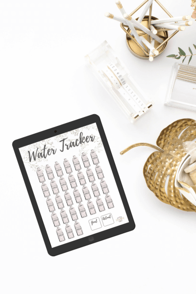 How I Track My Water – Download Free Printable