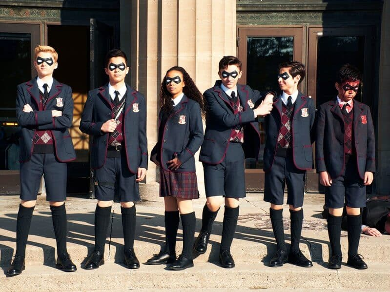 Umbrella Academy Suitable for kids